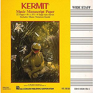 Kermit Manuscript Paper