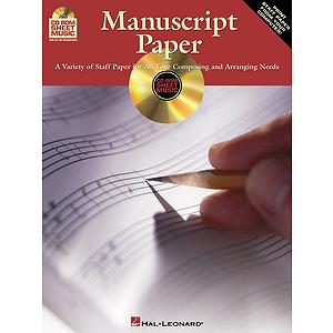 CD-ROM Manuscript Paper