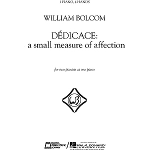 Dédicace - A Small Measure of Affection