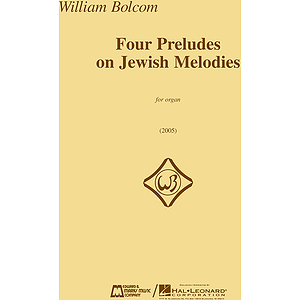 Four Preludes on Jewish Melodies