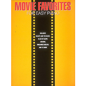 Movie Favorites for Easy Piano
