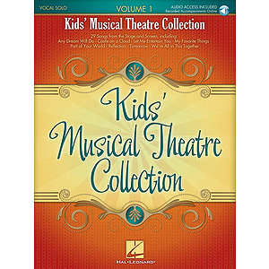 Kids&#039; Musical Theatre Collection - Volume 1
