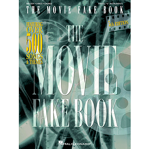 The Movie Fake Book - 5th Edition
