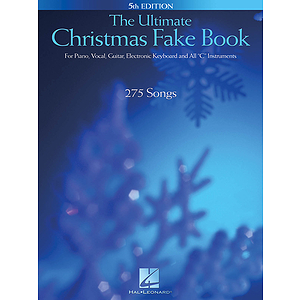 The Ultimate Christmas Fake Book - 5th Edition