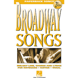Broadway Songs - 2nd Edition