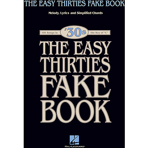 The Easy 1930s Fake Book