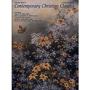 Contemporary Christian Classics Piano Duets