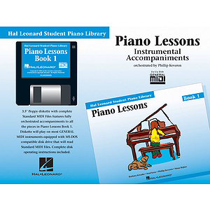 Piano Lessons Book 1 - GM Disk
