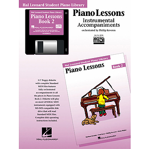 Piano Lessons Book 2 - GM Disk