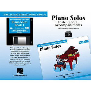 Piano Solos Book 1 - GM Disk