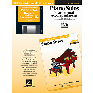 Piano Solos Book 3 - GM Disk