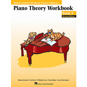 Piano Theory Workbook - Book 3 - Revised Edition
