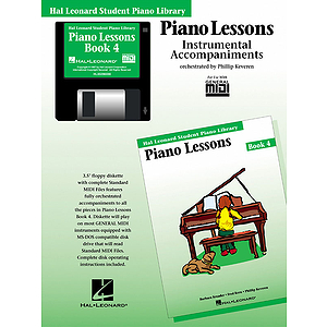 Piano Lessons Book 4 - GM Disk