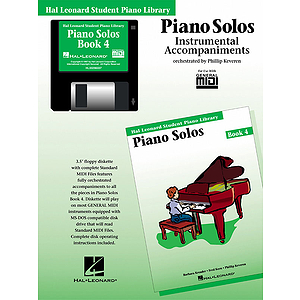 Piano Solos Book 4 - GM Disk
