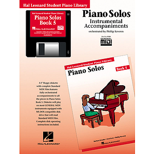 Piano Solos Book 5 - GM Disk
