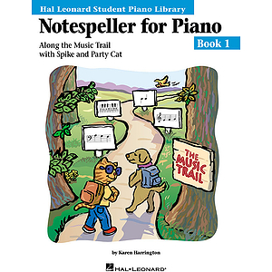Notespeller for Piano - Book 1