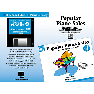 Popular Piano Solos - Level 1 - GM Disk