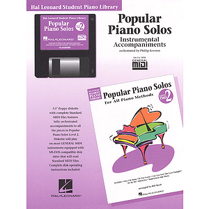 Popular Piano Solos - Level 2 - GM Disk