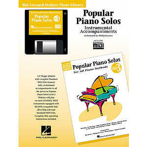 Popular Piano Solos - Level 3 - GM Disk