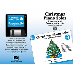 Christmas Piano Solos - Level 1 - GM Disk