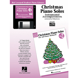 Christmas Piano Solos - Level 2 - GM Disk