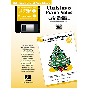 Christmas Piano Solos - Level 3 - GM Disk