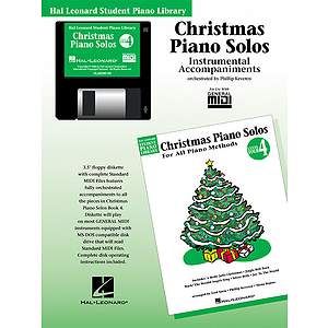 Christmas Piano Solos - Level 4 - GM Disk