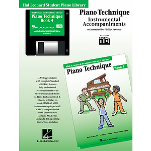 Piano Technique Book 4 - GM Disk