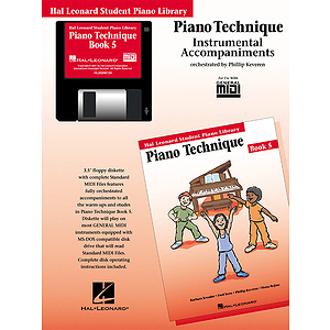 Piano Technique Book 5 - GM Disk