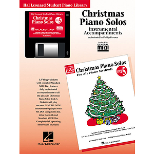 Christmas Piano Solos - Level 5 - GM Disk