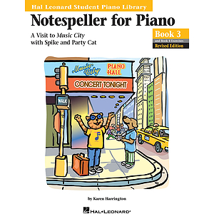 Notespeller for Piano, Book 3