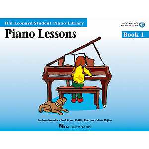 Piano Lessons Book 1 - Book/CD Pack