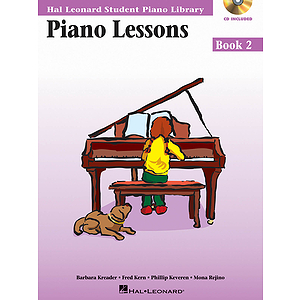 Piano Lessons Book 2 - Book/CD Pack