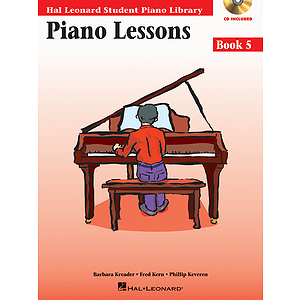 Piano Lessons Book 5 - Book/CD Pack