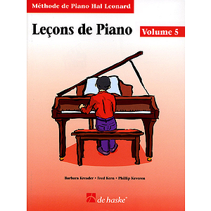 Piano Lessons Book 5 - French Edition