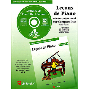 Piano Lessons Book 4 - CD - French Edition