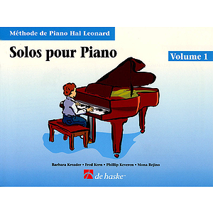 Piano Solos Book 1 - French Edition
