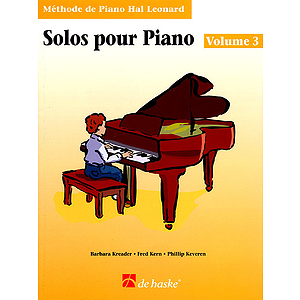 Piano Solos Book 3 - French Edition