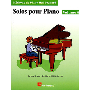 Piano Solos Book 4 - French Edition