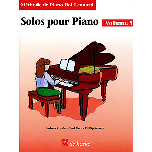 Piano Solos Book 5 - French Edition