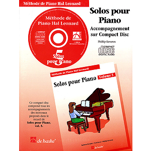 Piano Solos Book 5 - CD - French Edition