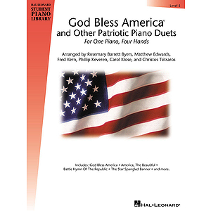 God Bless America and Other Patriotic Piano Duets - Level 5