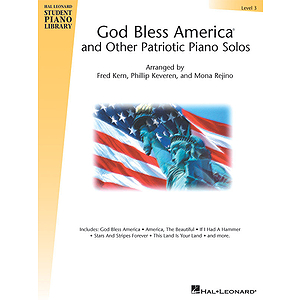 God Bless America and Other Patriotic Piano Solos - Level 3
