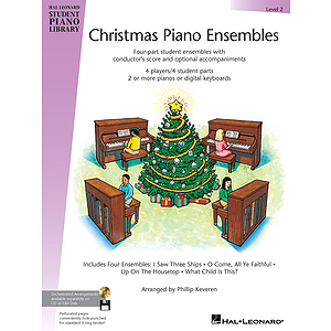 Christmas Piano Ensembles - Level 2 Book