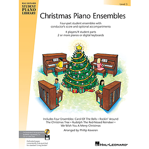 Christmas Piano Ensembles - Level 3 Book