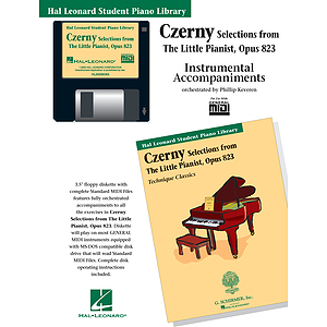 Czerny Selections from The Little Pianist, Opus 823 - GM Disk