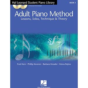 Hal Leonard Student Piano Library Adult Piano Method - Book 1/CD