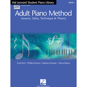 Hal Leonard Student Piano Library Adult Piano Method - Book/GM Disk Pack