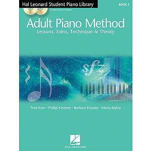 Hal Leonard Student Piano Library Adult Piano Method - Book 2/CD