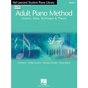 Hal Leonard Student Piano Library Adult Piano Method - Book 2/GM